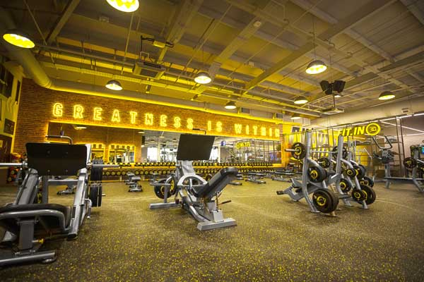 commercial gym flooring