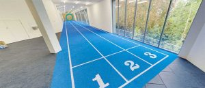 indoor athletic track