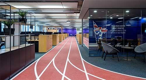 office athletics tracks