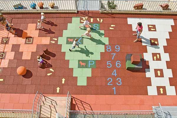 nursery playground installation