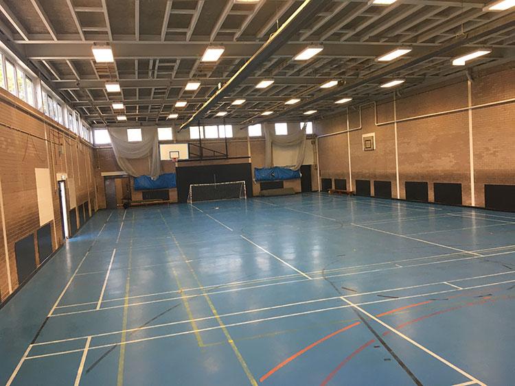 sports hall flooring newcastle academy